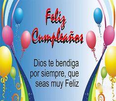 imagenes-de-feliz-cumpleanos-dios-te-bendiga-felicidad Google, Amor, Happy Birthday Funny, Happy Birthday Little Brother, Happy Birth Day, Happy Birthday Photos, Happiness