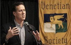 72 #prezpix #prezpixrs election 2012 Rick Santorum Philadelphia Inquirer Philly.com Charlie Riedel AP Photo 3/19/12