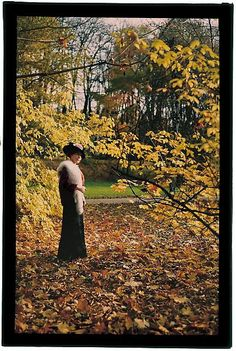 Fascination of Autumn Rudolf Bruner-Dvořák c. 1913; autochrome