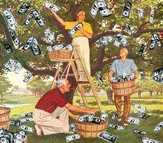 The Money Tree © Winston Smith, 1983