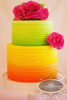 301.Tropical Wedding Cakes (that aren't tacky) - Bajan Wed