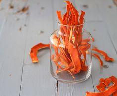 How to Dry Citrus Peels