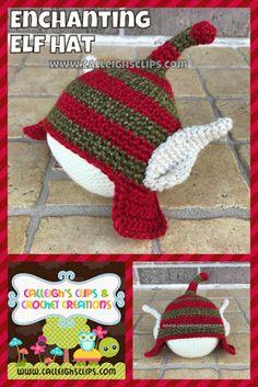 Enchanting Elf Hat : Free Crochet Pattern