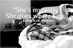 Reckless Romantic Moments, Romantic Couples, Kellan Kyle, Book Hangover, Book Qoutes, Favorite Book Quotes, Smart Men, The Way I Feel, Word Nerd