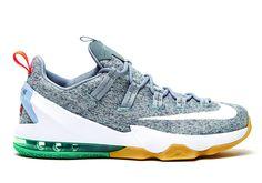 Nike LeBron 13 Low Stealth Grey 105277e80