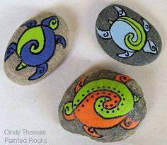 Polynesian rock turtles