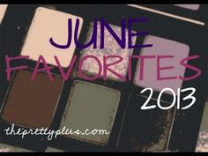 June makeup, hair, and plus size clothing favorites....and an announcement! | theprettyplus.com