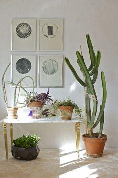 #home #decor #interior #littlethings #cactus #wallart #details