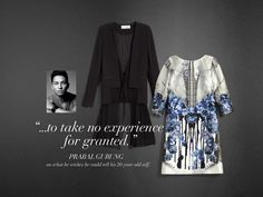 """Words to the Wise: """"...to take no experience for granted"""". #PrabalGurung"""