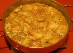 patatas castellanas Spanish Stew, Spanish Tapas, Spanish Food, Patatas Guisadas, Cooking Recipes, Healthy Recipes, Healthy Food, Latin Food, Mediterranean Recipes