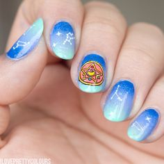 I Love Pretty Colours: sailor moon nails