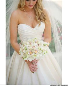 Sweetheart Neckline Wedding Dress #Sweetheart #Neckline #Weddingdress