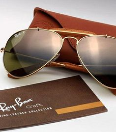 Ray Ban Aviator - genuine leather collection