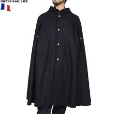 French army style cape