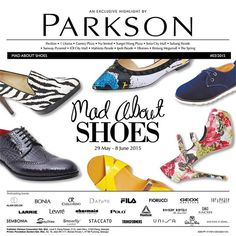 1-8 Jun 2015: Parkson Mad About Shoes Promotions