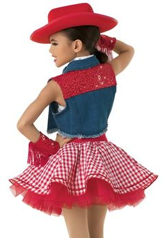 skirt modest -- Click above VISIT link to see Cowgirl Costume, Cowgirl Hats, Reborn Toddler Dolls, Gingham Skirt, Cute Girl Dresses, Types Of Skirts, Skirt Outfits, Dance Costumes, Short Skirts