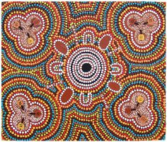 Aboriginal Symbols | ... Ants - Audrey Rubuntja - Western Aranda - Indigenous Aboriginal Artist