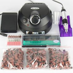 30000 RPM Professional Electric Nail Drill File Manicure Manicure Kit Black Colors Nail Art Tools for Nail Gel Nail Drill (32613243453)  SEE MORE  #SuperDeals