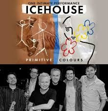 """Icehouse - originally formed as Flowers in 1977 the band, fronted by Iva Davies, achieved considerable success with their iconic album Primitive Man and the classic song """"Great Southern Land"""""""
