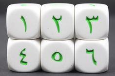 Arabic Number Language Dice