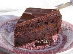 szeretetrehangoltan: Csokoládétorta (ami olyan, mint a Sacher) gluténmentes Health Eating, Cake Cookies, Gluten Free Recipes, Cake Recipes, Sweet Tooth, Paleo, Food And Drink, Mint, Sweets