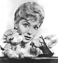 Shari Lewis with Lamb Chop and Charlie horse. Remember Hush Puppy, Charlie Horse, Lamb Chop, and Wing Ding, a black crow? Lamb Chop, who was little more than a sock with eyes, served as a sassy alter-ego for Lewis. Hush Puppy had a Southern accent and a reserved shy personality, while Charlie Horse was a slow-witted goofy character.