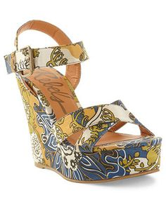 Rebels Shoes, Katmandu Platform Wedge Sandals - Espadrilles & Wedges - Shoes - Macy's
