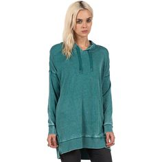 Lived In Fleece Long Sleeve Pullover - Women