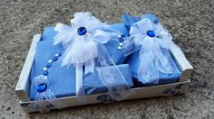 The decoration for the wedding. Floral decorations. Packaging of gifts. Packaging paper. The wedding ceremony. The bride beautiful. Wedding fairytale.