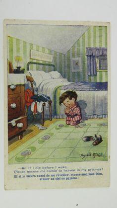 1910s-Inter-Art-Donald-McGill-Postcard-No-2287-Little-Boy-Praying