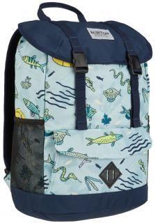 !!!KD Outing Gone Fishin Burton bunter Rucksack blau, bunte Fische Nylons, Sport, Diaper Bag, Laptop, Backpacks, Fashion, Burton Kids, Hook And Loop Fastener, Blue