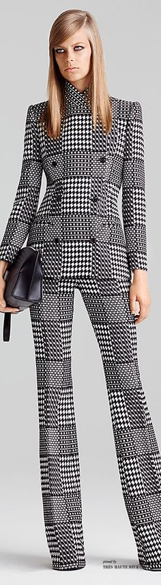 Something about this pattern and me - LOVE Alexander McQueen Resort 2015
