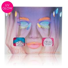 Ciaté Corrupted Neon Shout Out Pink Nail Polish Set from Von Maur #VonMaur #Ciate #NailArt #Neon
