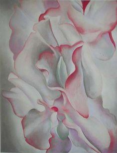 Georgia O' Keefe - her close ups of flowers truly were so feminine and erotic.