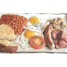 Day 5 - Proper British Food. By Instagram user @ v.hoc