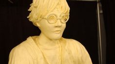 The Iowa State Fair's 2007 companion butter sculpture of Harry Potter.