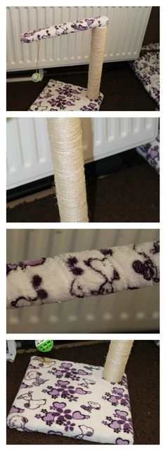 a cat tree diy super easy to do!