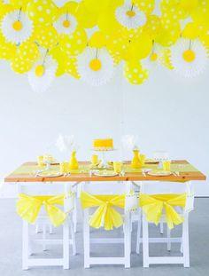 Daisy Party Ideas
