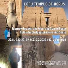 🇬🇧 The magical Horus Temple in Edfu Where the energy of dualities, light and shadow, victory and defeat are deeply perceivable. 🇨🇭 Die Magie des Horus Temple in Edfu Wo die Energie der Dualität, Licht und Schatten, Sieg und Niederlage tief spürbar sind. Great Pyramid Of Giza, Us Sailing, Pyramids Of Giza, Light And Shadow, Egypt, Temple, Spirituality, Journey, Activities