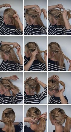 Daily Haircut » » Step By Step Easy Selfmade Hairstyles