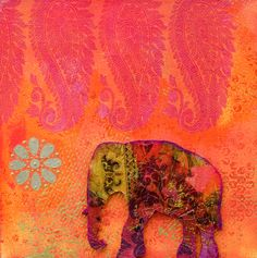 Indian Elephant @Katie Schmeltzer Leigh ~ Born To Dazzle let's make these when I come visit you! xoxo