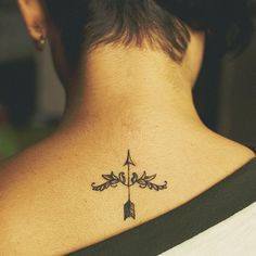 arrow tiny tattoo | because im sagittarius 31 Best Sagittarius Tattoos