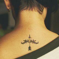 Elegant Sagittarius Tattoo