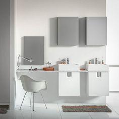 Meble łazienkowe  KOŁO TWINS to sposób na uporządkowaną łazienkę z indywidualnym charakterem!   #KOŁO #łazienka #inspiracja #łazienki #wystrój #wystrójwnętrz #meble #interior #white #bathroom #furniture #minimal #interiordesign #inspiration