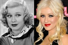 Does Ginger Rogers Look Like Christina Aguilera?