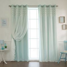 Loving these layered looks with curtains and sheers. #sheers #curtains #layers