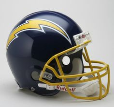 San Diego Chargers 1974-86 Throwback Pro Line Helmet