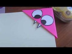Corner Bookmark Tutorial - Monster - YouTube