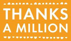 Thanks  A  Million .