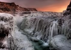 Gullfoss - beautiful colours of Iceland